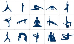 yoga gweithgareddau covid