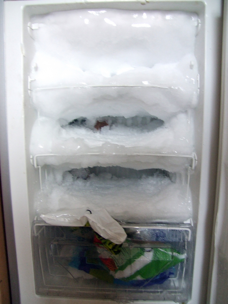This is what happens if you don't defrost your freezer