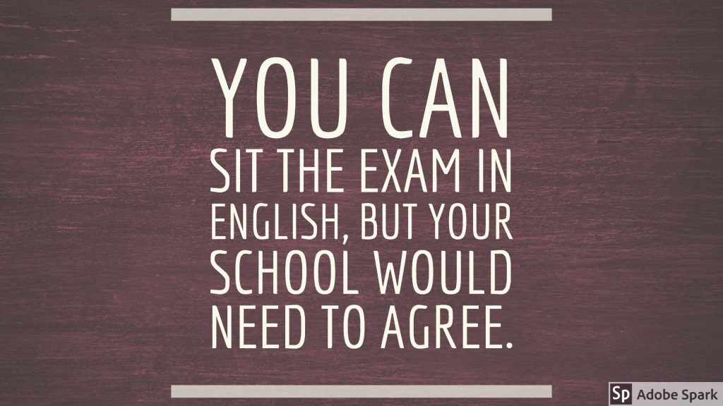 quote english exam grab the meic