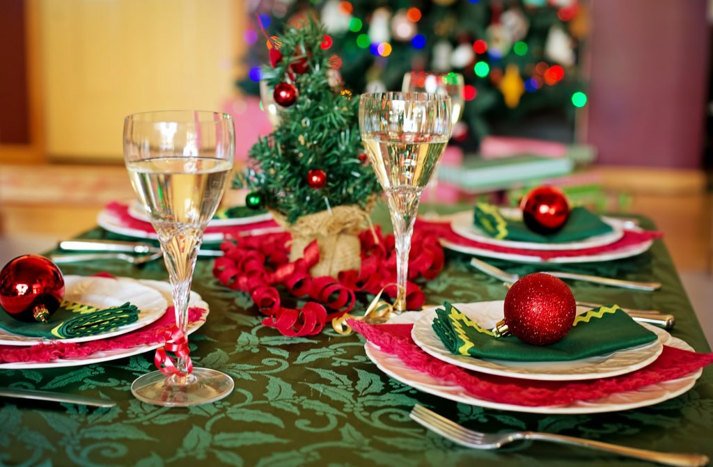 Xmas dinner for Home From University For Christmas article