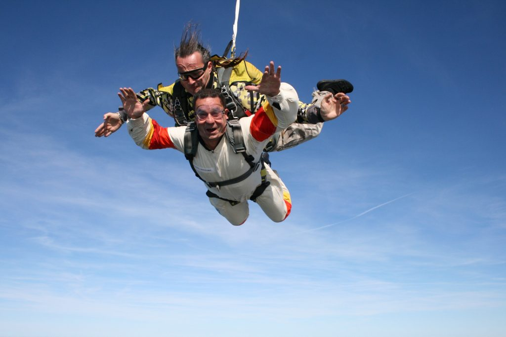 skydive for volunteering article