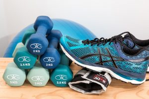 Trainer and weights for negative feelings article