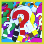 Lots of colourful question marks piled on top of each other