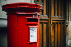 Post box for voting article