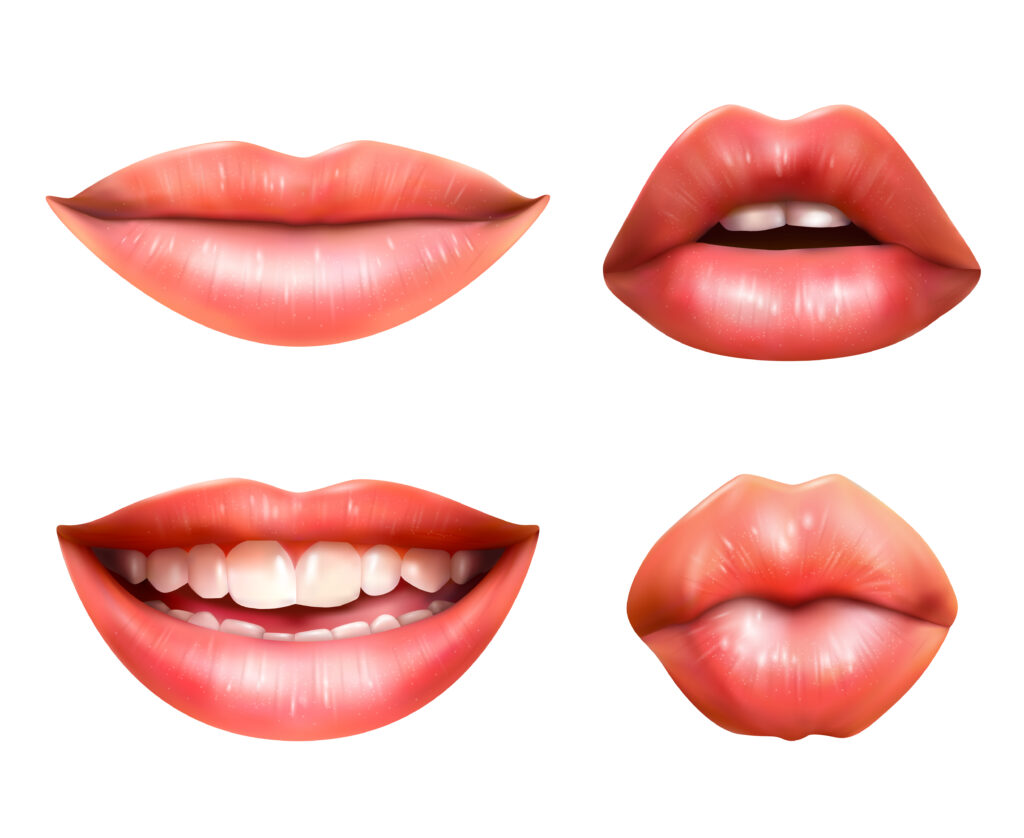Mouths representing lip reading for deaf awareness week blog